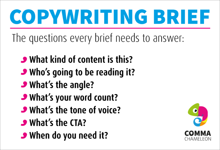 The evergreen questions every copywriting brief needs to answer