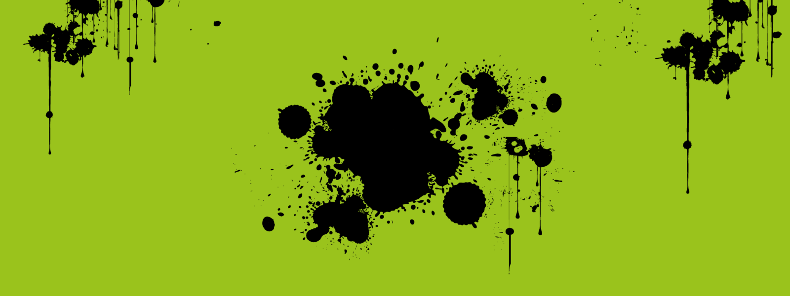 Ink spatters