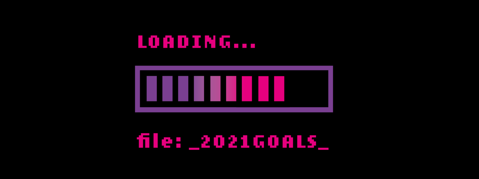 loading 2021 goals